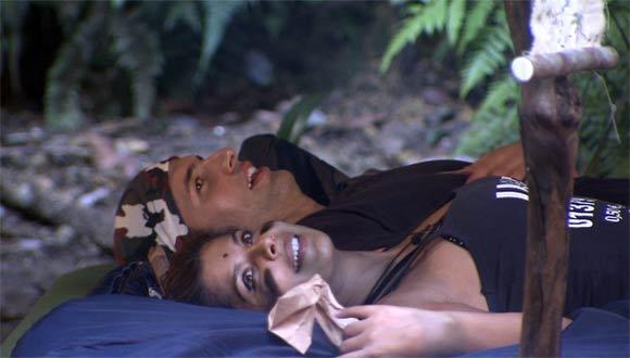 Adam und Eva im RTL-Dschungelcamp 2011