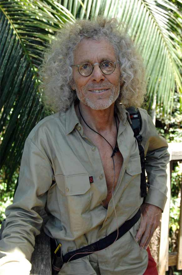 Reiner Langhans verlässt das Dschungelcamp 2012