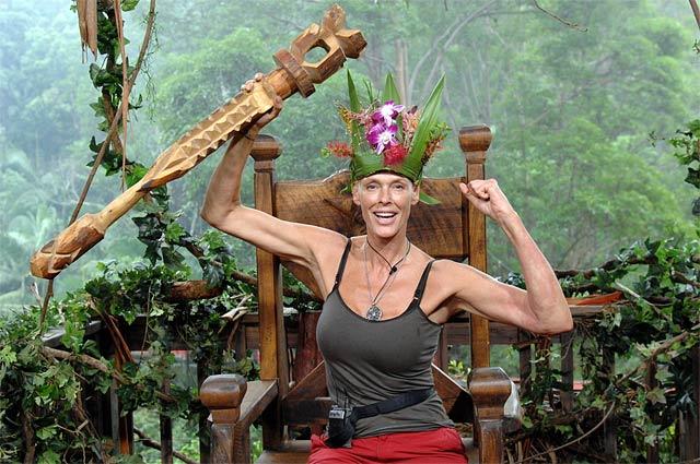 Dschungelcamp 2012: Brigitte Nielsen Ihre Majestät Wasgehtlos Darein die Erste