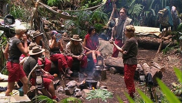 Ansprache des Dschungeldiktators im Dschungelcamp