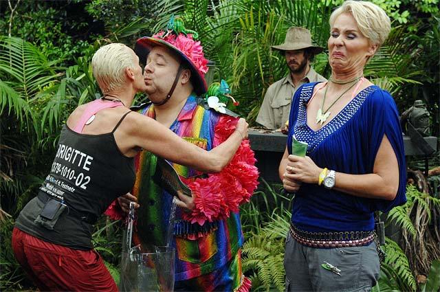 Dschungelprüfung mit Brigitte Nielsen
