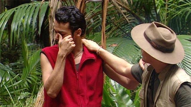 Flennen heulen weinen  im Dschungelcamp 2012