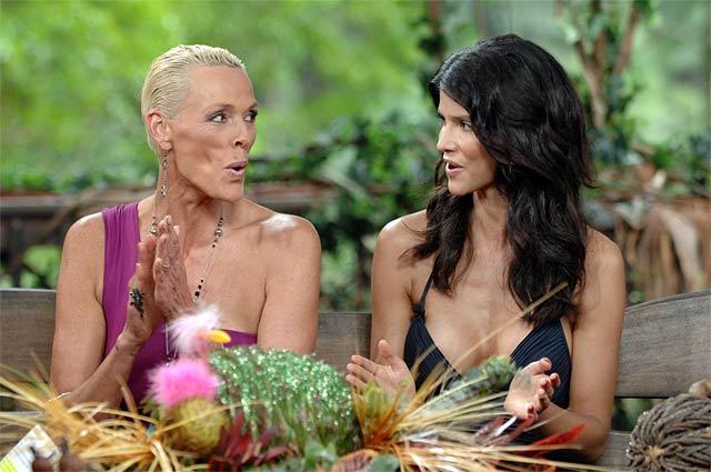 Rivalinnen im Dschungelcamp 2012: Brigitte Nielsen und Micaela
