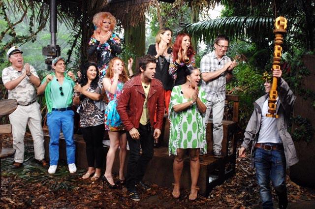 Alle Kandidaten am Ende des Dschungelcamps 2013