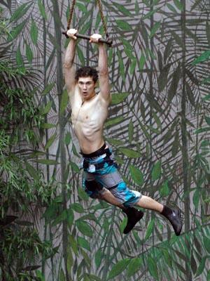Little Joey ist Dschungel-Tarzan
