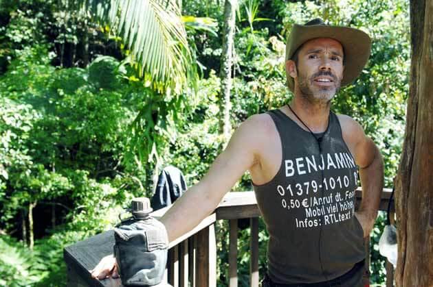 Sunnyboy Benjamin Boyce im RTL-Dschungecamp