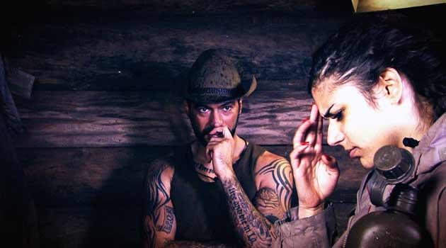 Aurelio und Tanja im Dschungeltelefon