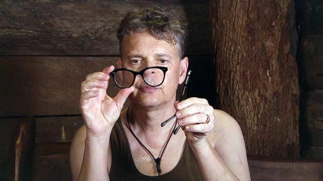 Er sieht ncihts, keiner sieht ihn: Rolfe ohne Brille
