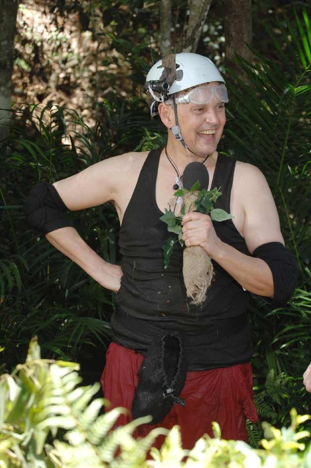 Rolfe nach seiner Dschungelprüfung