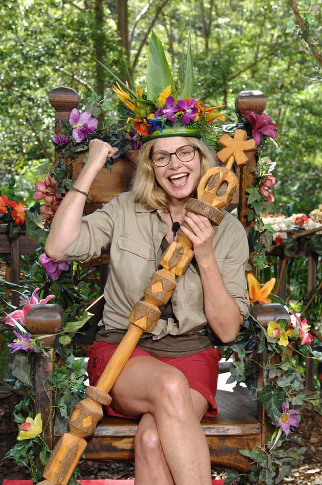 Maren Glizter ist Dschungelkönigin