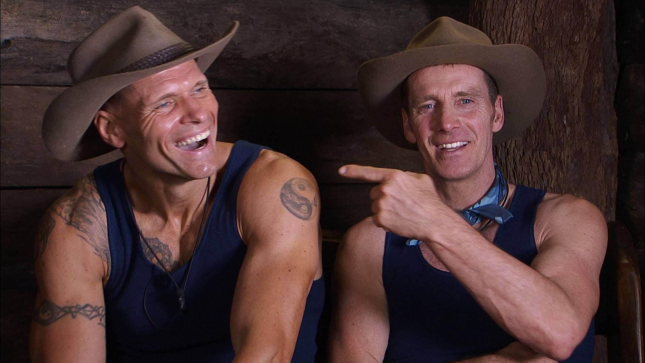 Thorsten und Jürgen im Dschungelcamp 2016
