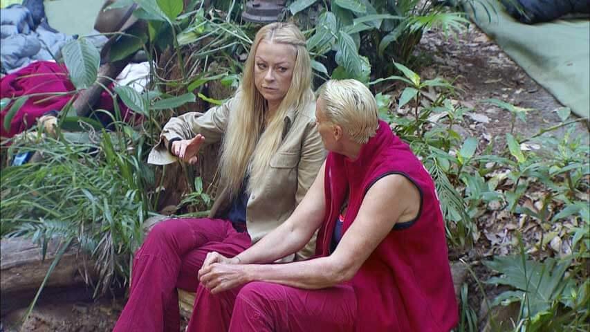 Jenny und Brigidde im Dschungelcamp 2016