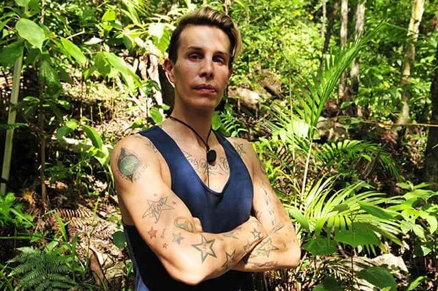 Florian Wess vor seiner Dschungelprüfung