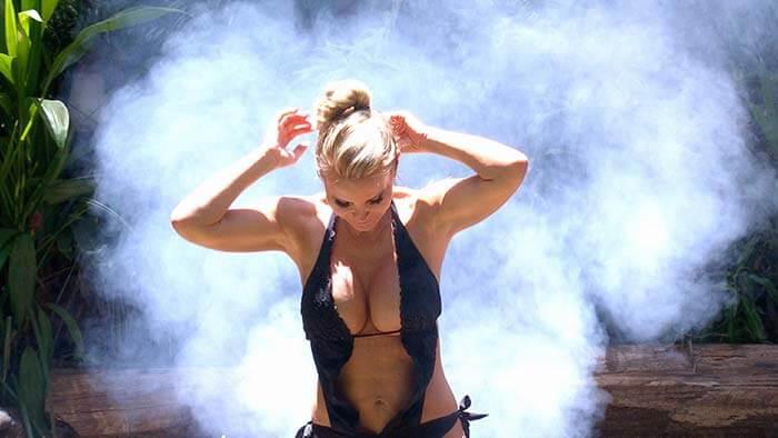 Tatjana Gsell im Dschungelcamp