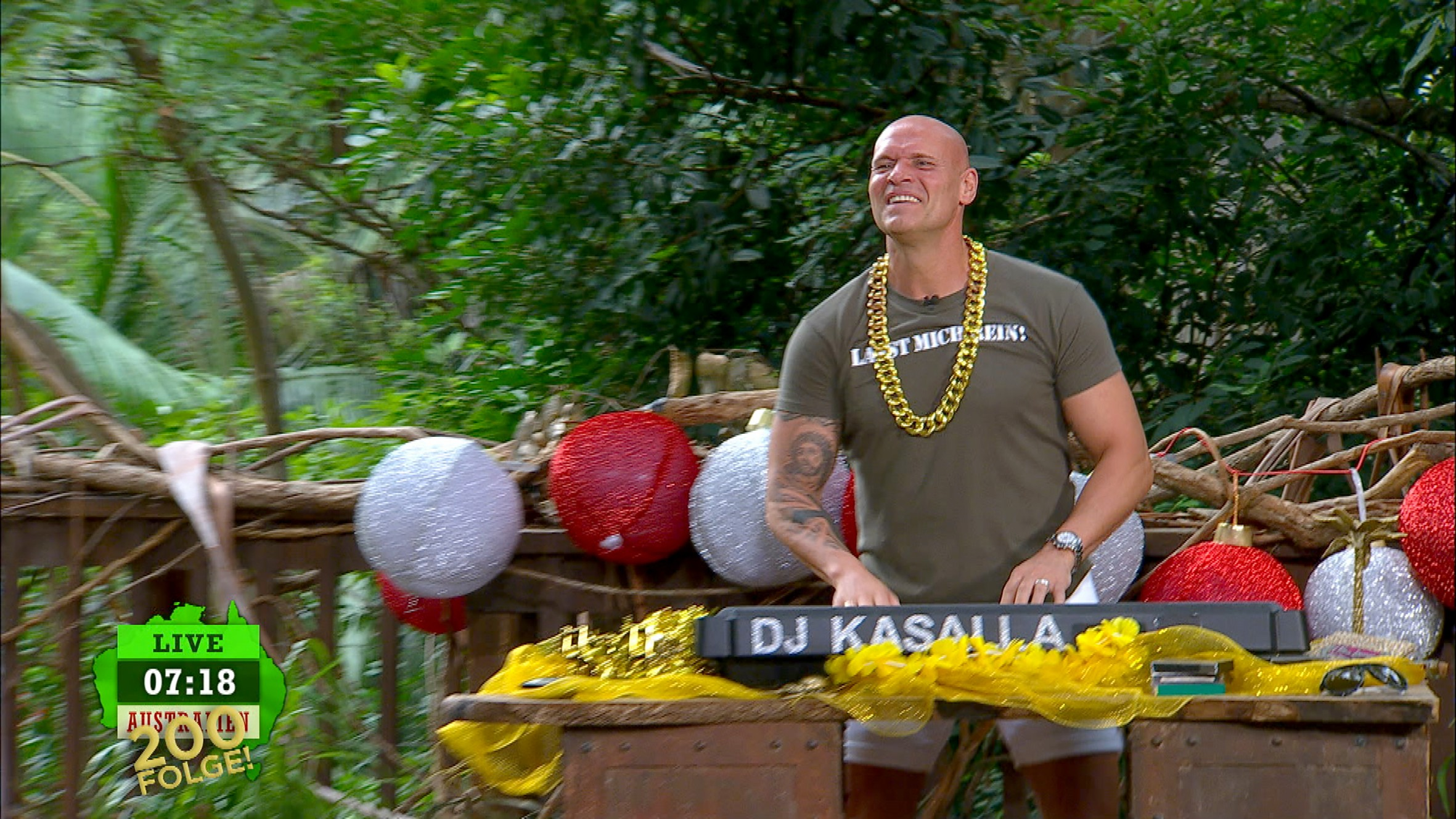 DJ Kasalla im Dschungelcamp 200