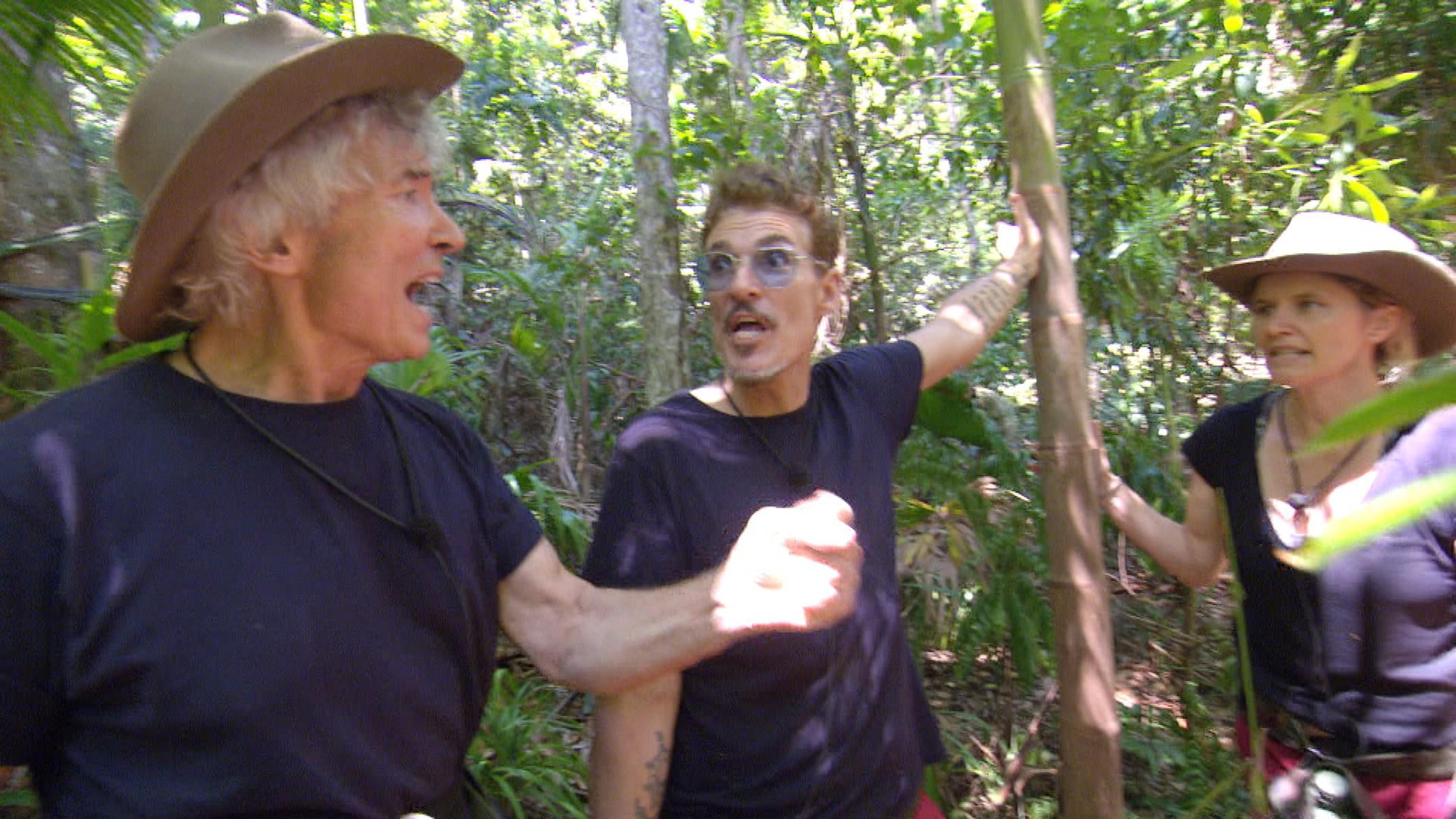 Peter und Chris nach dem Schwingerclub