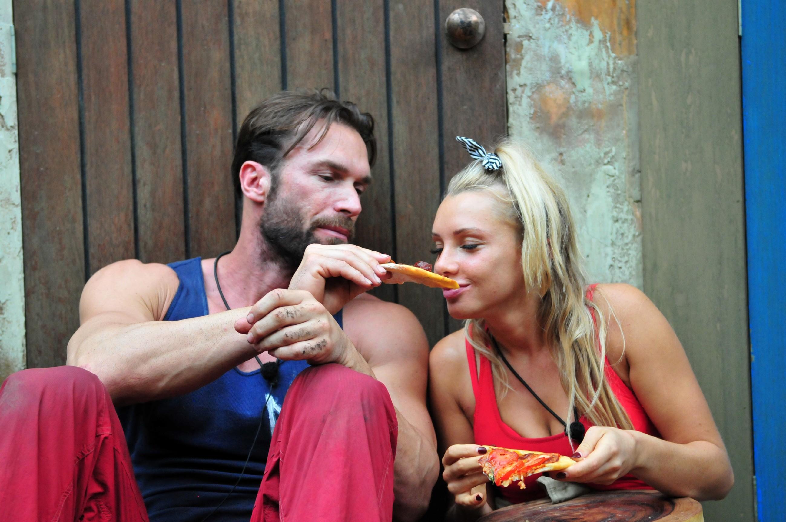 Pizza für Bastian und Evelyn