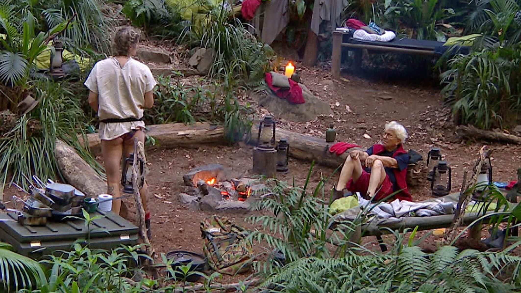 Feuerwache im Dschungelcamp