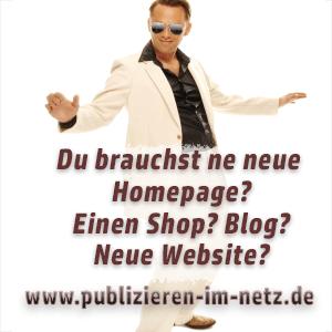Webdesign Hamburg: Neue Website, neuer Shop, neuer Blog von www.publizieren-im-netz.de
