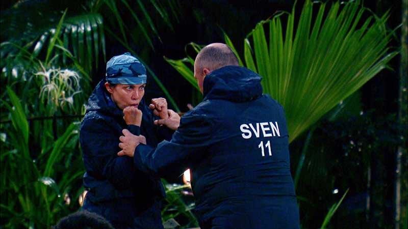Boxübung mit Sven und Sonja
