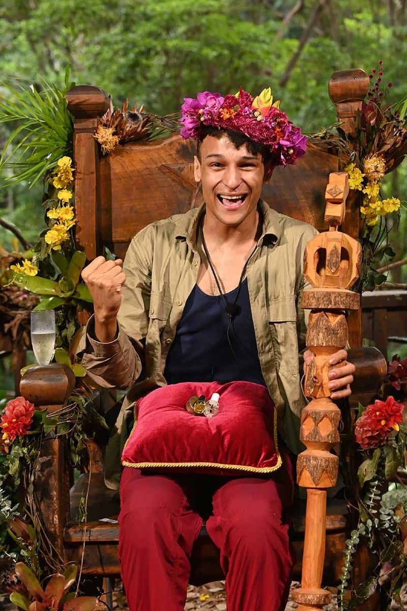Prince Damien ist Dschungelkönig 2020