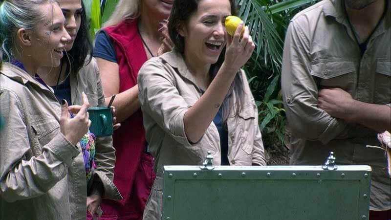 Tag 5 Dschungelcamp: Zitrone aus der Schatztruhe