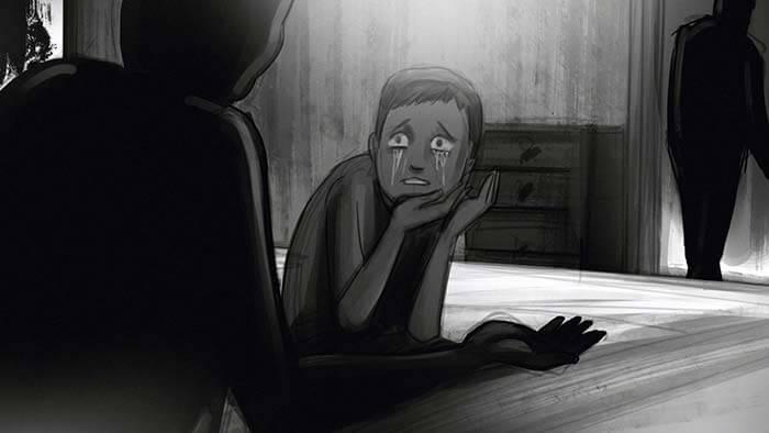 Sequezen im Graphic-Novel-Stil helfen die Vorgänge zu verstehen
