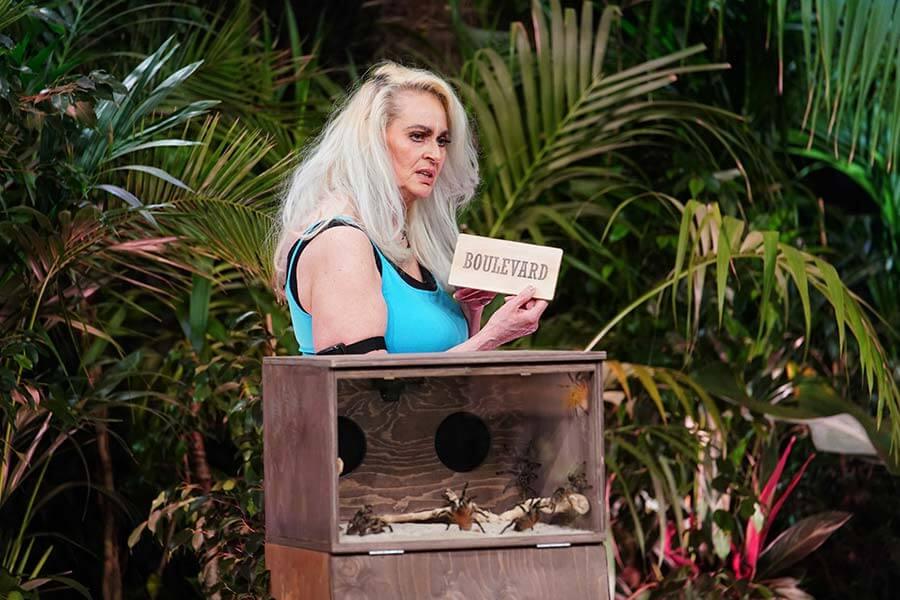 Bea Fiedler in der Dschungelprüfung