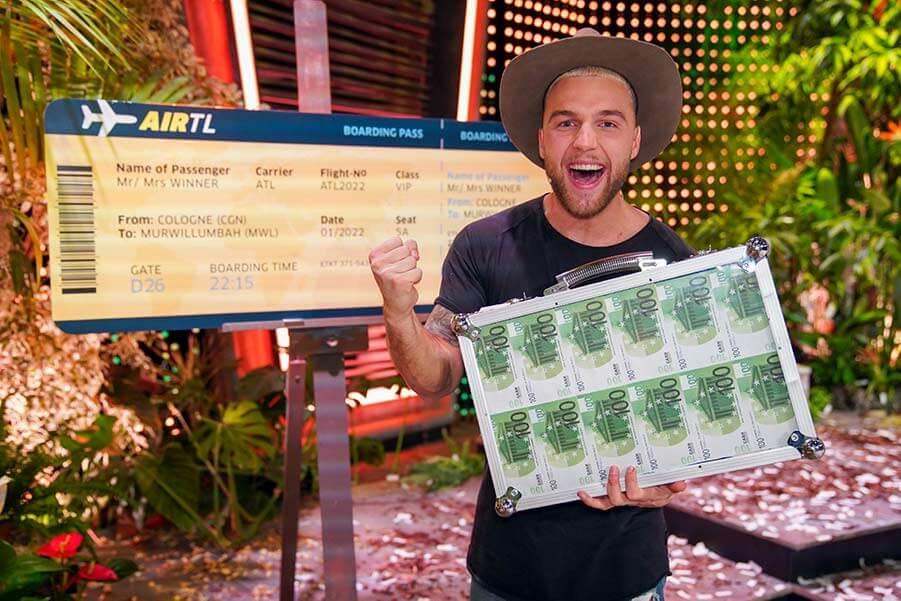 Filip gewinnt das goldene Ticket