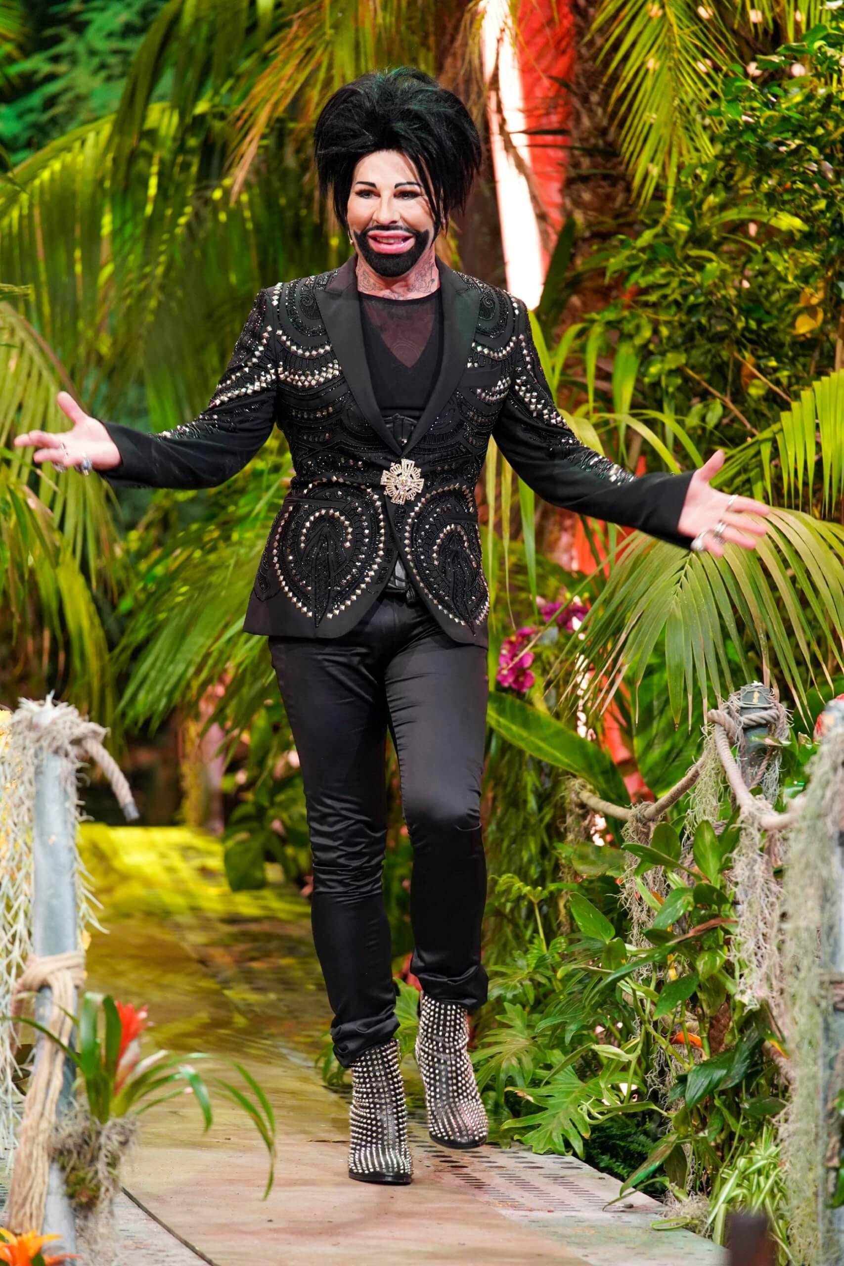 Harald Glööckler in der Dschungelshow
