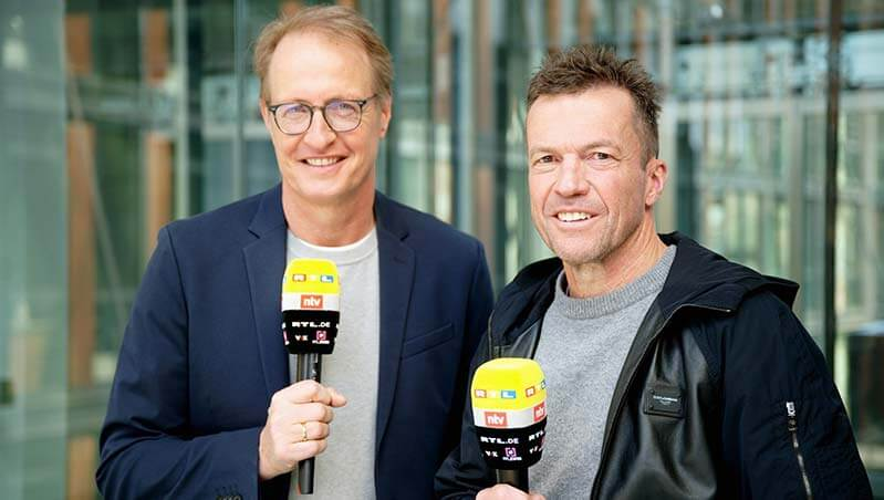 Fußball-Coup: Loddar beim RTL
