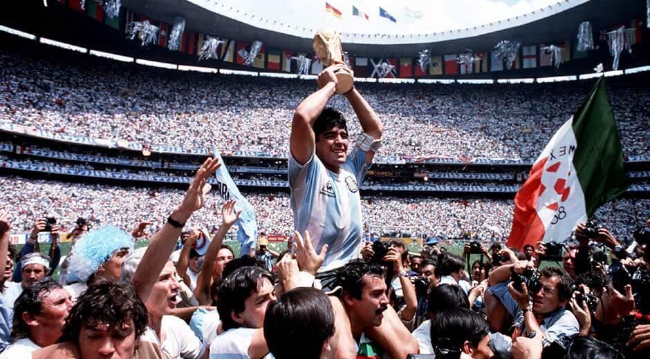 Fußball-Weltmeister Diego Maradona