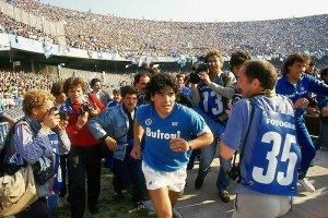 Fussballer Diego Maradonna