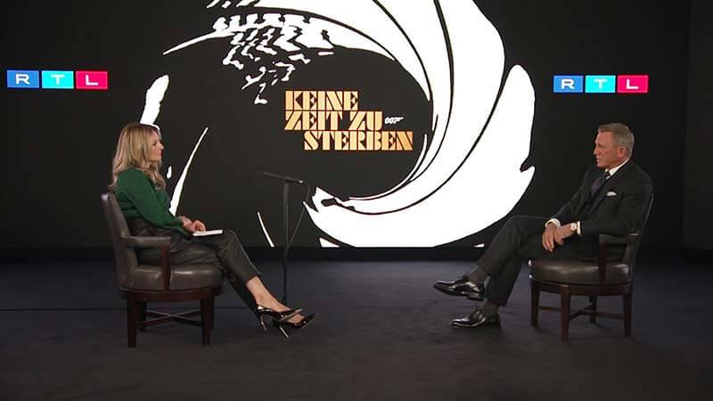 Bond is back! Daniel Craig im TV-Interview